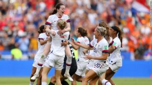 Standing Alone: The 2019 FIFA World Cup, the Tour of America and Pay Equity